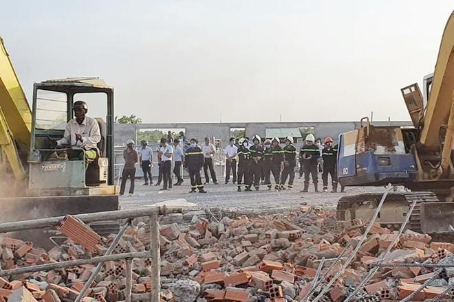 Hiện trường vụ sập công trình xây dựng làm 10 người chết ở Đồng Nai-9