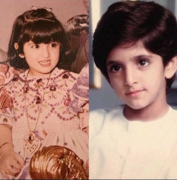 Lộ hình ảnh thái tử đẹp nhất Dubai và người vợ tựa nữ thần lớn lên cùng nhau từ tấm bé, từ nhỏ đã có nét phu thê-3