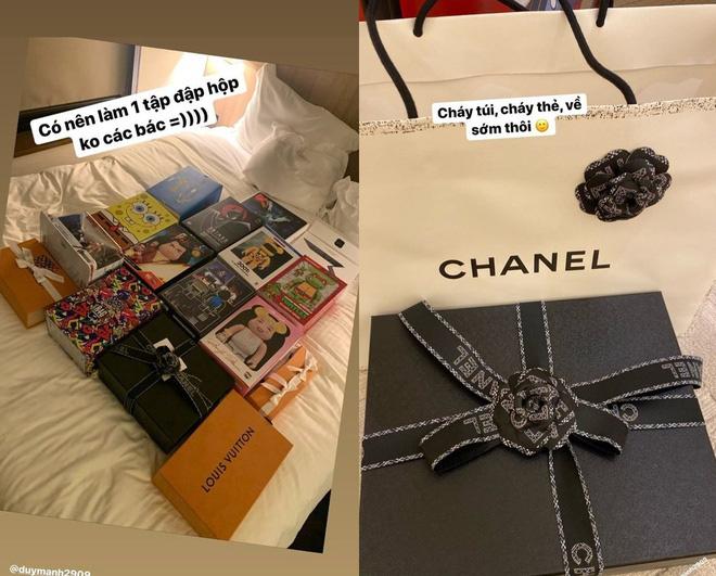 Hậu tin đồn hôn nhân lục đục, Quỳnh Anh sắm ngay túi Hermès trăm triệu, còn tag thẳng Duy Mạnh để khoe khéo-6
