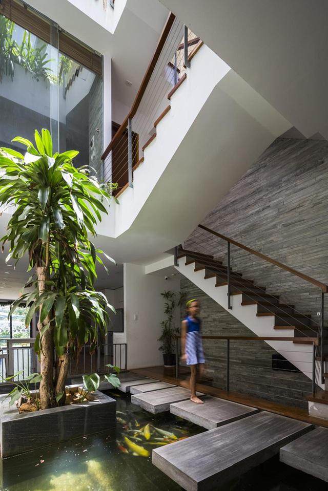 Ngỡ ngàng biệt thự ở Đà Nẵng xây cả công viên tuyệt đẹp trên sân thượng-8