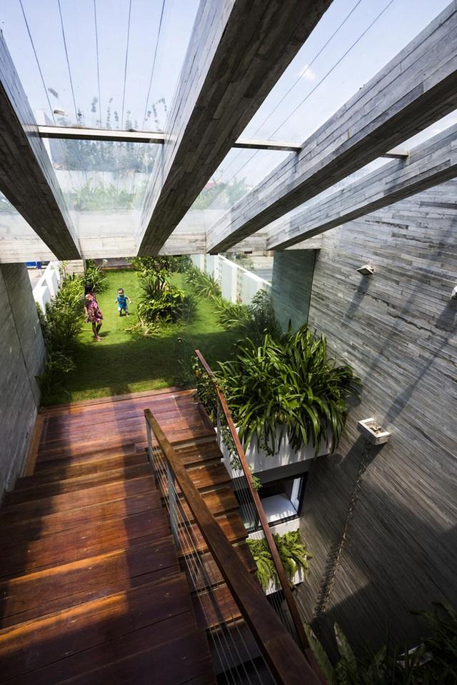 Ngỡ ngàng biệt thự ở Đà Nẵng xây cả công viên tuyệt đẹp trên sân thượng-11