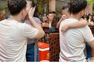Con gái MC Thành Trung khóc òa khi gặp lại bố sau thời gian dài giãn cách do Covid-19
