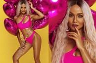 H'Hen Niê mặc bikini hồng, trang điểm như Nicki Minaj mừng sinh nhật