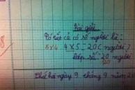 Học trò viết 4x5, cô giáo bất ngờ gạch đáp án sửa thành 5x4 khiến dân mạng tranh cãi kịch liệt vì sự nhầm lẫn Toán học sơ đẳng này