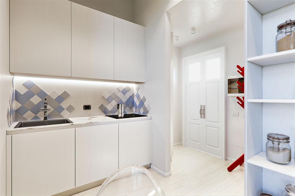 Chỉ vỏn vẹn 29m² nhưng căn hộ dưới đây vẫn gây thương nhớ với màu trắng tinh khôi cùng nội thất siêu tiết kiệm không gian-9