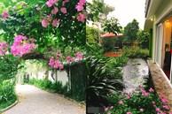 Vườn cây và hoa rực rỡ níu những bình yên ở ngoại ô Hà Nội giúp gia đình trẻ tránh xa ồn ào của phố thị