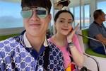Bà bầu Quỳnh Anh khiến fan giật mình vì khuôn mặt khác lạ, còn khoe mua túi Hermes để đựng bỉm cho con-6