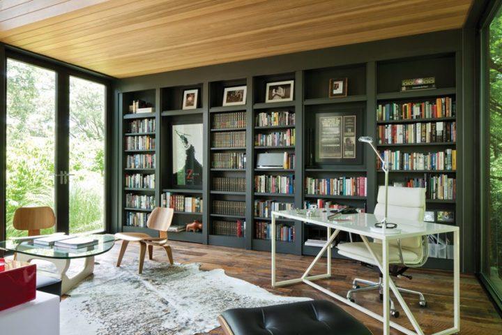 Ngôi nhà bốn bề là vườn cây xanh mát lý tưởng dành cho những ai yêu thích đọc sách-5