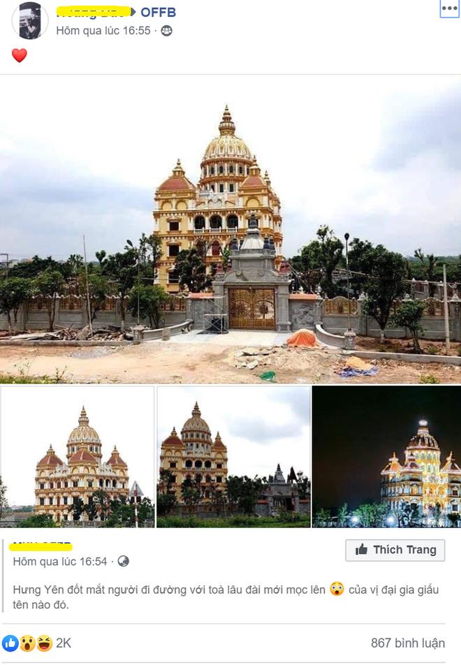 Xôn xao lâu đài khủng của đại gia Hưng Yên-1