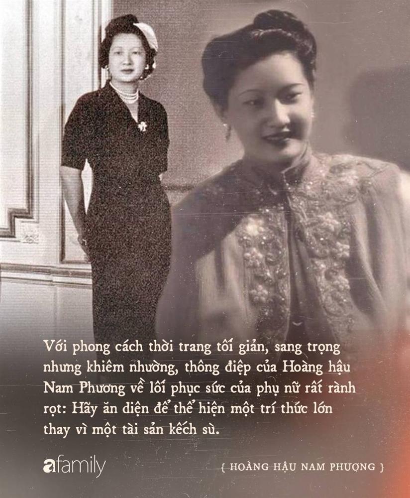 Nam Phương Hoàng Hậu: Người đàn bà phải lòng Dior nhưng phân nửa đời vẫn mực thước với Áo dài-19