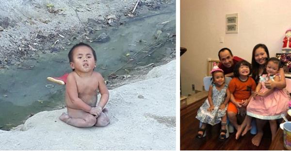 Em bé Mường Lát bị liệt 2 chân ngày nào đã thay đổi hoàn toàn sau gần 3 năm được nhận nuôi-2