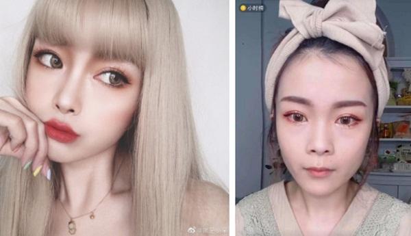 Không có gì đau đớn bằng hot girl Tik Tok tắt nhầm filter lúc livestream: Sai một li, đi một nữ thần-4