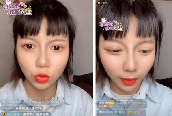 Không có gì đau đớn bằng hot girl Tik Tok tắt nhầm filter lúc livestream: Sai một li, đi một nữ thần-6