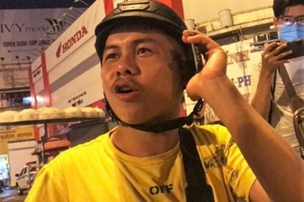 Xin bỏ qua vi phạm không được, người đàn ông gắt gỏng tại chốt CSGT