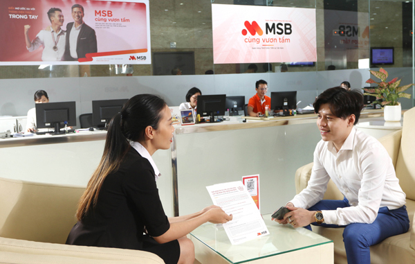 'Siêu miễn phí, quà hết ý' khi mở gói tài khoản MSB-1