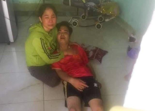 Tạm giữ người chồng nghi giết vợ câm điếc rồi dựng hiện trường giả-1