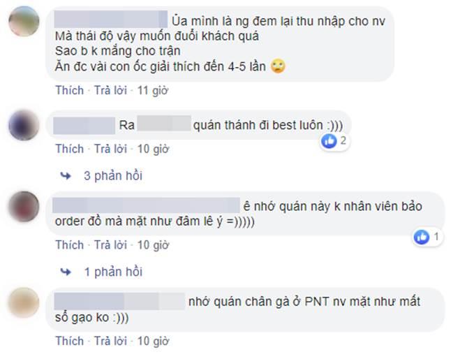 Mất 820k đi ăn ở quán ốc nổi tiếng Hà Nội, cô gái trẻ bức xúc vì thái độ nhân viên hách dịch, xin thêm đồ cậy ốc còn bị quát-4