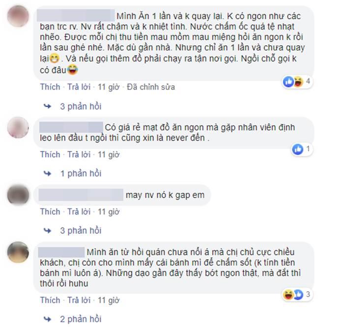 Mất 820k đi ăn ở quán ốc nổi tiếng Hà Nội, cô gái trẻ bức xúc vì thái độ nhân viên hách dịch, xin thêm đồ cậy ốc còn bị quát-5