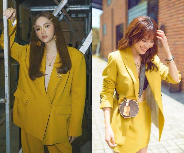 Mê mẩn trước gu thời trang chị em sinh đôi của Hương Giang và Lan Ngọc-5