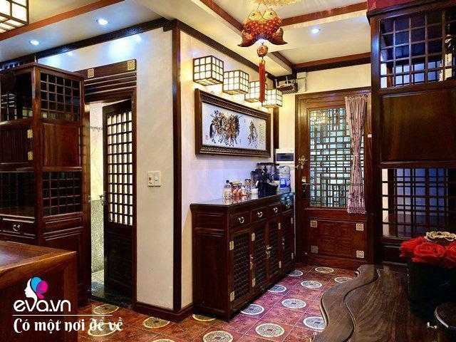 """Tiến sĩ trẻ biến chung cư cũ 350m² thành dinh thự"""" khủng, riêng bộ bàn trà đã 6 tỷ đồng-4"""