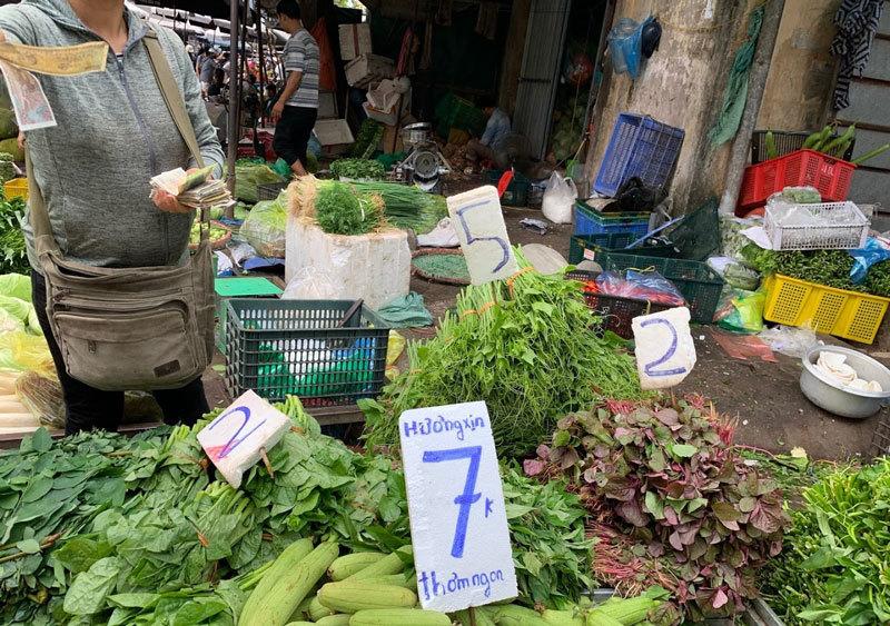 Đi chợ đầu mối, cầm 10.000 đồng đủ rau xanh ăn cả ngày cho gia đình-4