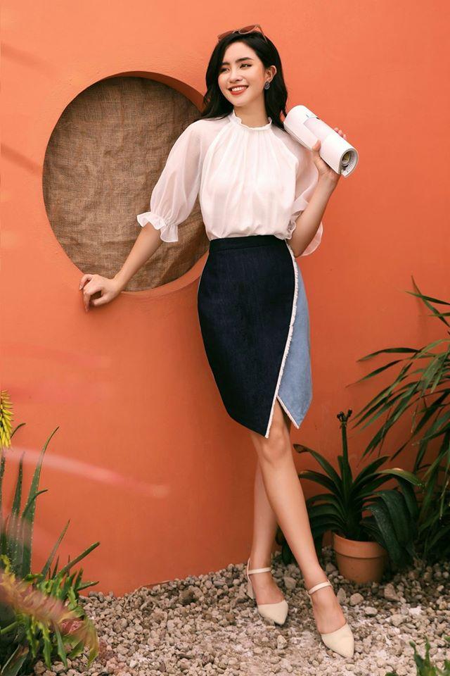 10 thiết kế chân váy mỏng mát, cực chanh sả lại tôn chân dài miên man, quan trọng nhất là có mẫu đang sale chỉ hơn 100k-9
