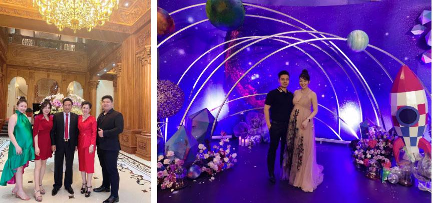 Cô dâu 200 cây vàng ở Nam Định thon gọn ngoạn mục so với lúc bầu, khoe nhan sắc lộng lẫy trong bữa tiệc của con gái đầu lòng-6