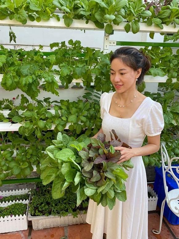 Khám phá vườn rau sạch của vợ chồng đạo diễn của các Hoa hậu Hoàng Nhật Nam-3