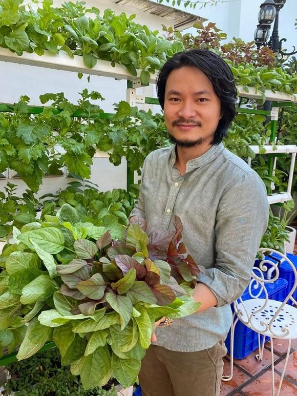 Khám phá vườn rau sạch của vợ chồng đạo diễn của các Hoa hậu Hoàng Nhật Nam-4
