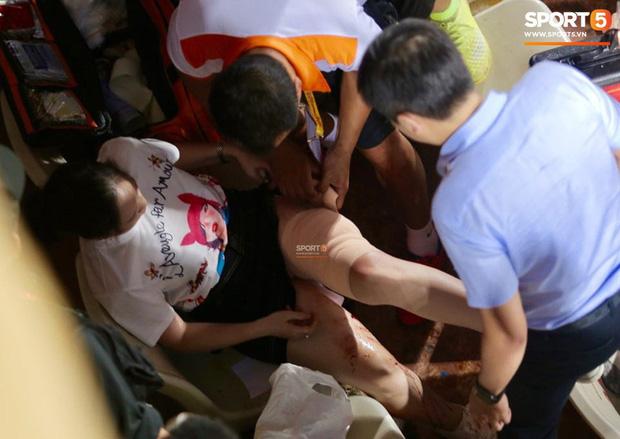 CĐV Nam Định bị phạt tù 4 năm sau vụ bắn pháo hiệu khiến fan nữ bị thương nặng ở sân Hàng Đẫy-3