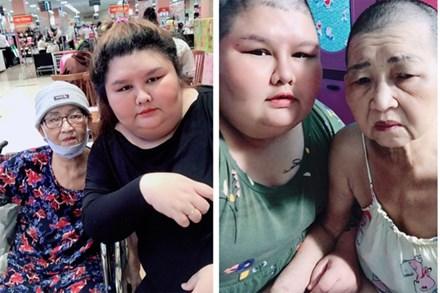Bị body shaming vì cạo trọc đầu giống mẹ bị bệnh, cô gái 130kg lạc quan: