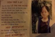Nữ sinh Nghệ An mất tích nhiều ngày được cặp vợ chồng lớn tuổi ở Hà Nội cưu mang
