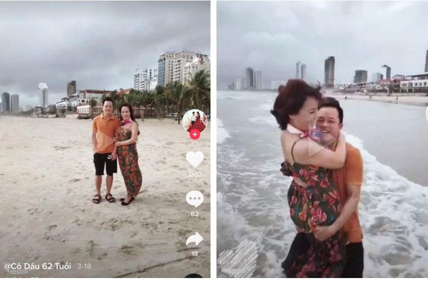 Cô dâu 62 tuổi cùng chồng trẻ lặn lội vào Đồng Nai gặp cô dâu 65 tuổi, giãi bày cách vượt dư luận và giữ hạnh phúc-5