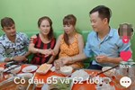 Cô dâu 65 tuổi lấy chồng ngoại 24 tuổi khoe ảnh cưới cực ngầu sau khi gặp mặt cặp đôi vợ chồng 62 - 26-11