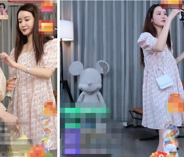 Hotgirl ngoại tình với chủ tịch Taobao lộ vòng 2 to bất thường, dân mạng suy đoán: Đã thật sự mang thai ở tuổi 32 sau nhiều lần phủ nhận?-3