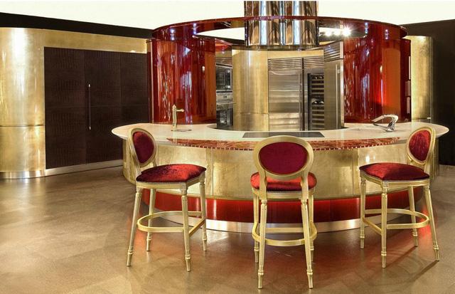 9 căn bếp giá tiền tỷ với nội thất dát vàng xa xỉ-3