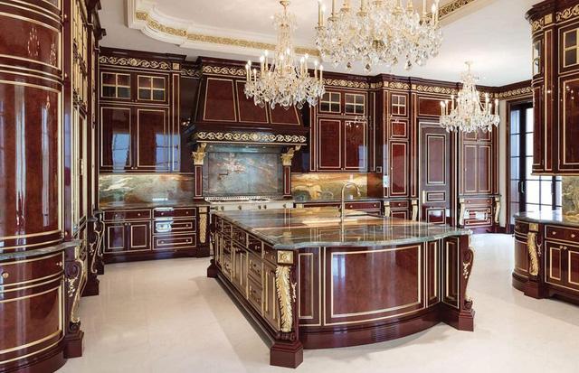 9 căn bếp giá tiền tỷ với nội thất dát vàng xa xỉ-7