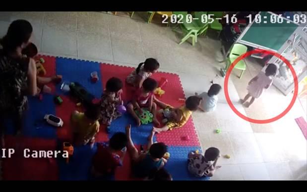 Bắc Giang: Nghi vấn cơ sở mầm non tư thục bạo hành dã man bé gái hơn 2 tuổi khi mới nhập học 3 ngày-1