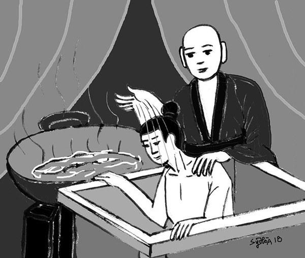 Lịch sử Việt từng có vị vua mắc bệnh lạ: Lông lá mọc khắp người, triều đình phải làm cũi vàng nhốt vào và quá trình điều trị xứng đáng là một kỳ tích-4