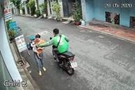 Bắt tài xế GrabBike có hành vi cướp giật điện thoại của người mẹ đang bồng con nhỏ ở Sài Gòn