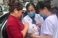 Nhờ ứng biến kịp thời trong lúc tắc đường, lái xe taxi và nhân viên tiêm chủng giúp sản phụ sinh con thành công