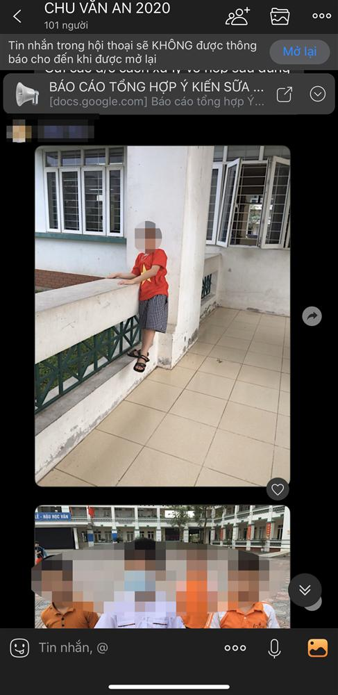 Phụ huynh ở Hà Nội phản ánh cô giáo không cho học sinh quay lại trong trường sau giờ tan học khiến con phải lang thang ngoài đường-2
