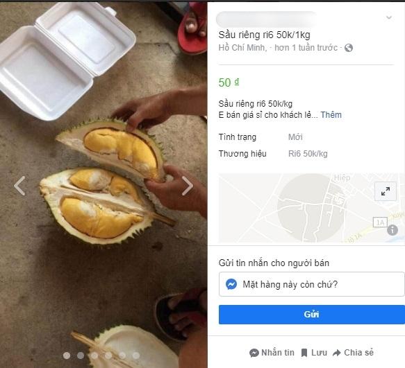 Sầu riêng ở Sài Gòn chẳng cần giải cứu mà nhiều nơi vẫn bán giá siêu mềm-1
