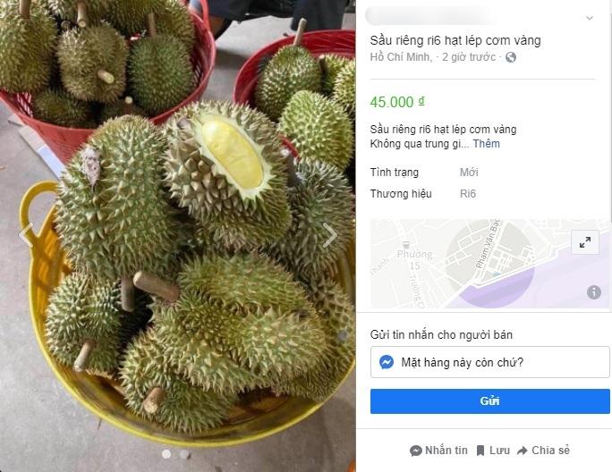 Sầu riêng ở Sài Gòn chẳng cần giải cứu mà nhiều nơi vẫn bán giá siêu mềm-2