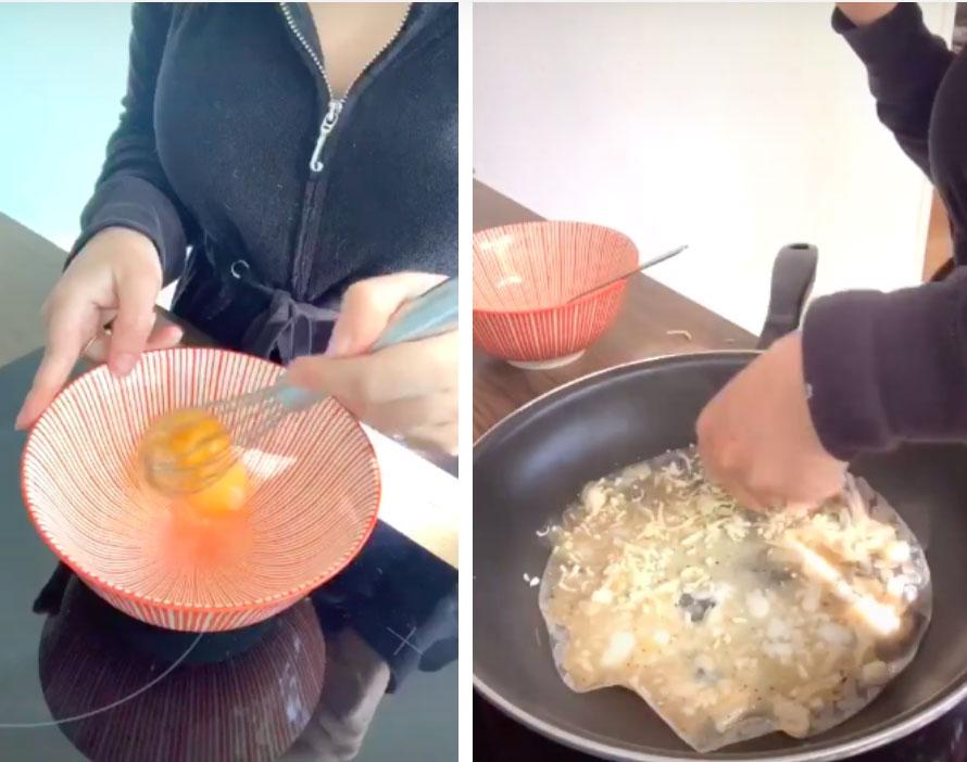 Cô gái người Đức mê đắm món bánh tráng nướng Việt Nam liền làm clip hướng dẫn bạn bè quốc tế, nhưng dân mạng lại chỉ ra điều sai quá sai này-1