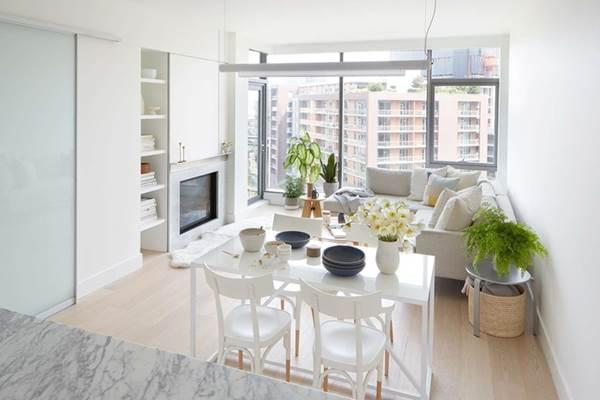 9 mẫu thiết kế phòng khách kết hợp bếp siêu độc đáo, hack không gian cực đỉnh cho căn hộ nhỏ-2
