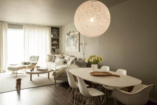 9 mẫu thiết kế phòng khách kết hợp bếp siêu độc đáo, hack không gian cực đỉnh cho căn hộ nhỏ-4