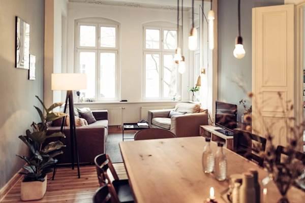9 mẫu thiết kế phòng khách kết hợp bếp siêu độc đáo, hack không gian cực đỉnh cho căn hộ nhỏ-6