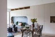 9 mẫu thiết kế phòng khách kết hợp bếp siêu độc đáo, hack không gian cực đỉnh cho căn hộ nhỏ