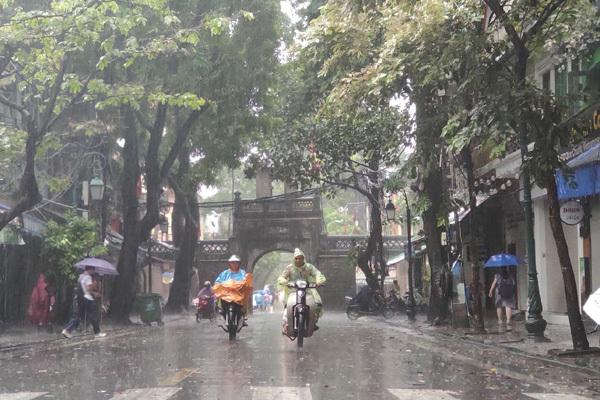 Dự báo thời tiết ngày 23/5/2020: Hà Nội mưa to, đề phòng ngập lụt-1